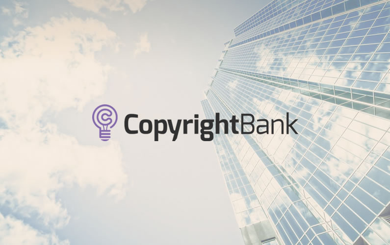 Blockchain-powered CopyrightBank